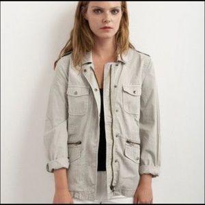 NWT Lily Aldridge for Velvet Military Jacket